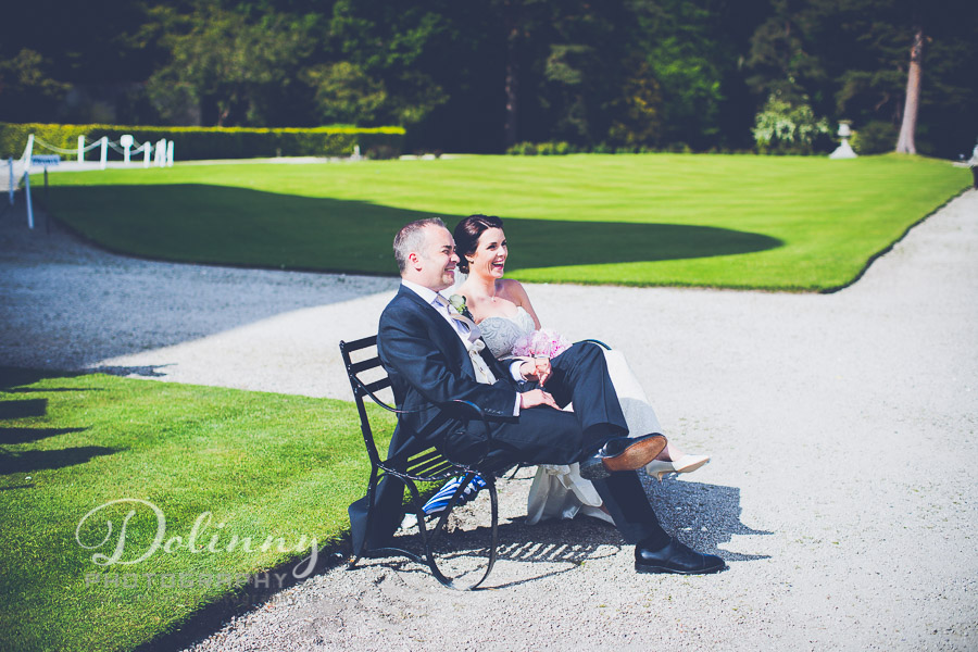 Wedding Photographer Dublin – Powerscourt Gardens wedding