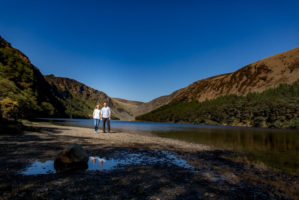 Wedding Photographer Wicklow Carlow - engagement pictures Wicklow mountains