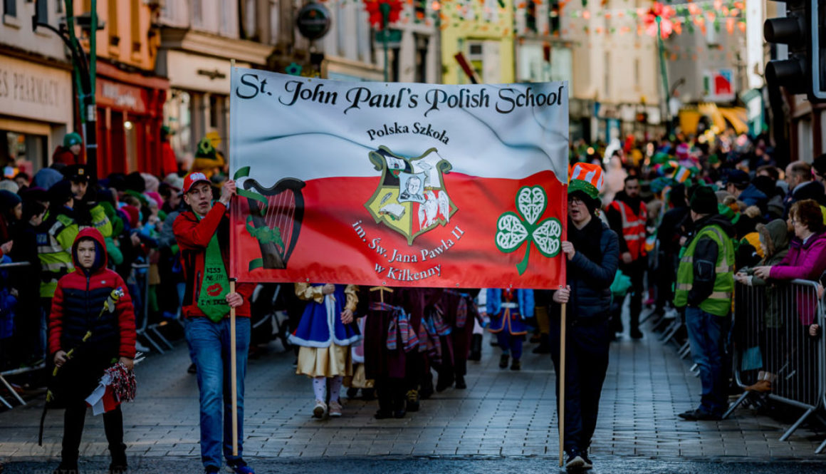 St Patrick Day 2019 Kilkenny, including Polish Community School, Kilkenny life, Polish Community School Kilkenny, Kilkenny St Patrick Day, St Patrick 2019, Kilkenny 2019 st patrick day, Ireland, st patrick day, polish in Ireland, polish school, St Patrick day with polish, Kilkenny polish community,